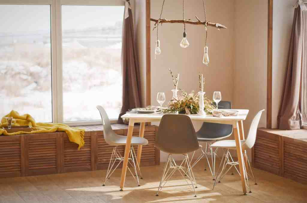 Add boho style to your home by adding texture