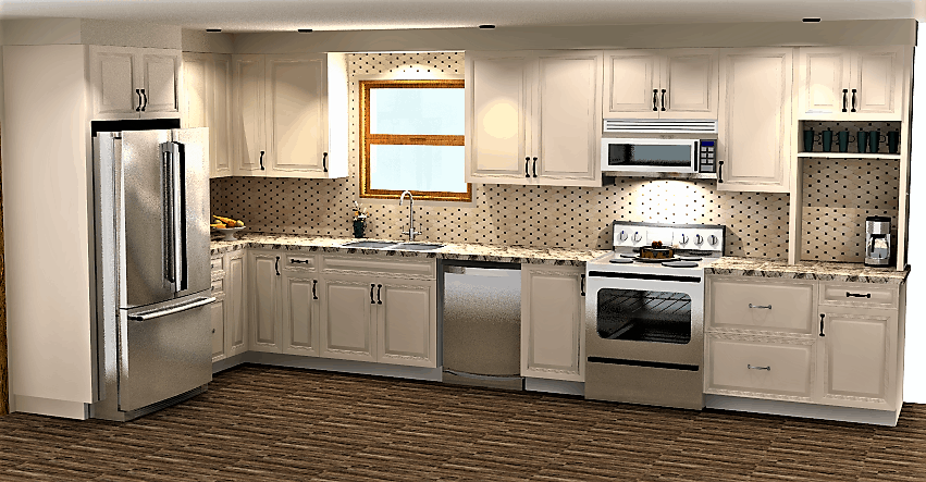 Rendering portfolio-DG kitchen
