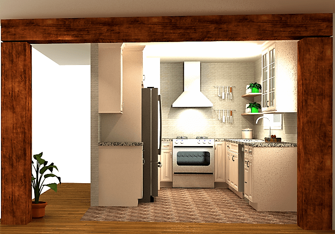 Rendering portfolio-DP kitchen