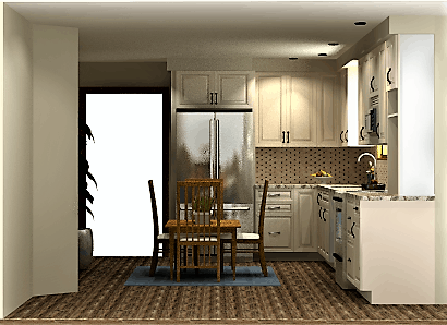 Rendering portfolio-DG kitchen 3