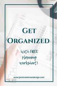 Organization pinterest graphic