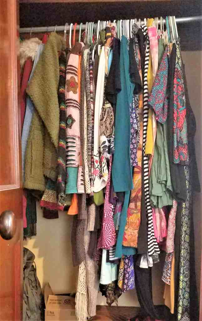 unwanted clothing-closet after organ