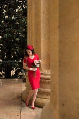 red dress 23