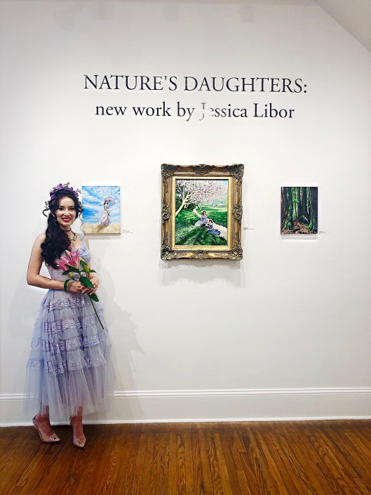Nature's Daughters wall Jessica Libor