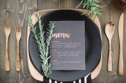 pretty menu 24