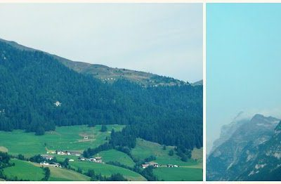 Driving Through Austria and a Meal in Mittenwald