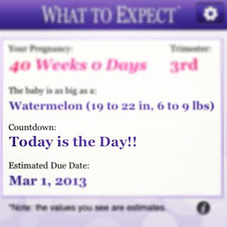 Due Date = TODAY!