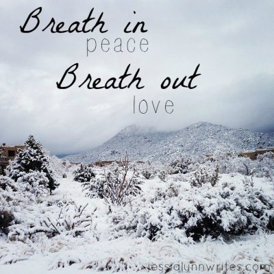Breathe in Peace, Breathe out Love