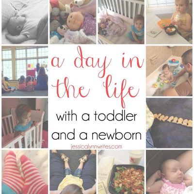 A Day in the Life With a Toddler and a Newborn