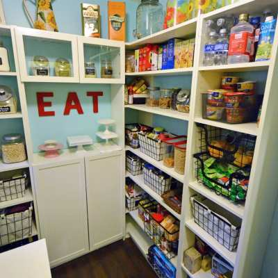 Our Walk-in Pantry Reveal