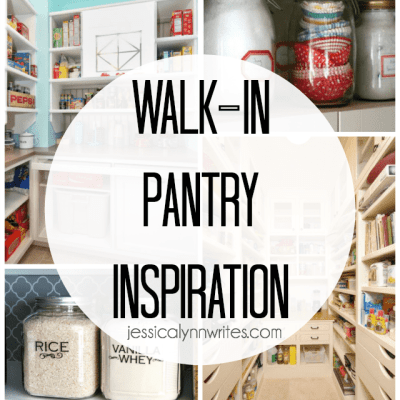 Our Walk-in Pantry Inspiration