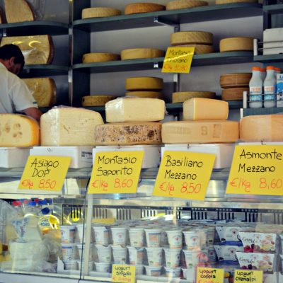 The Market in Maniago, Italy