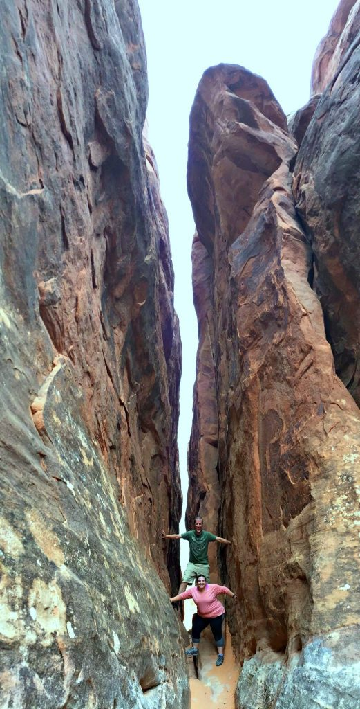"""Planning a trip to Arches National Park in Moab, Utah, means adding """"hike the Fiery Furnace"""" to your bucket list. Stunning views around every corner. 