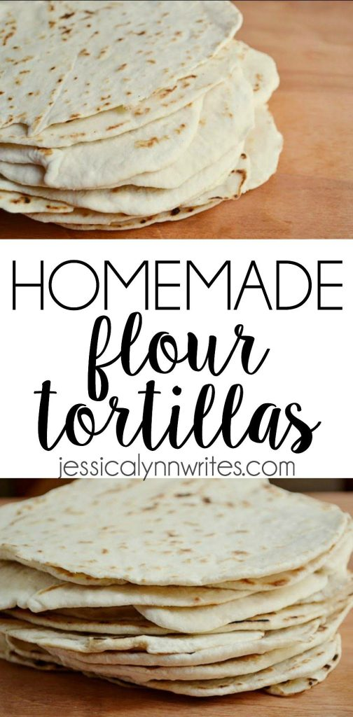 Sure, packaged processed tortillas are fine in a pinch, but if you want taste something completely satisfying, try some homemade flour tortillas ASAP! | jessicalynnwrites.com