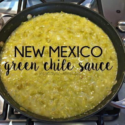 Green Chile Sauce {a recipe}