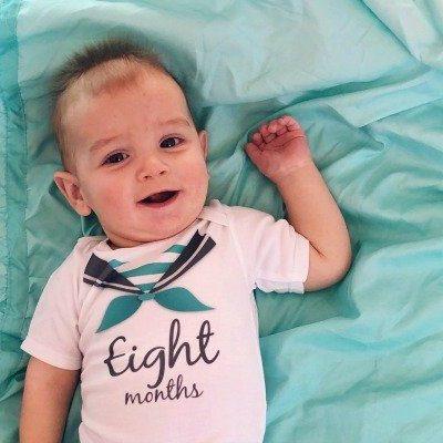 Logan John (eight months)
