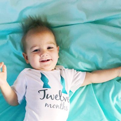 Logan John (twelve months)