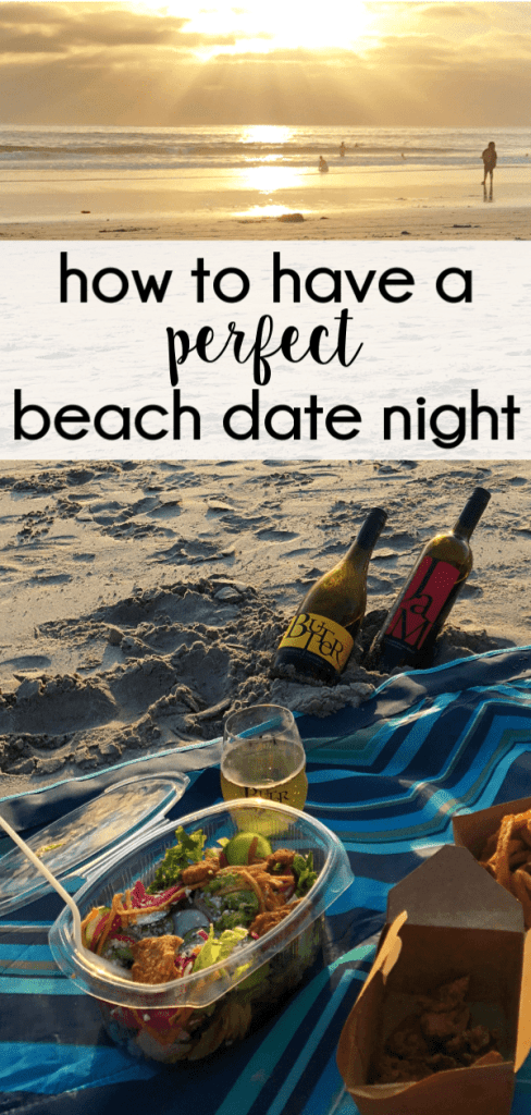 Here's everything you need to know about having a perfect beach date night.