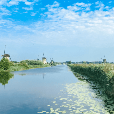 Experiencing Kinderdijk Windmills With Kids