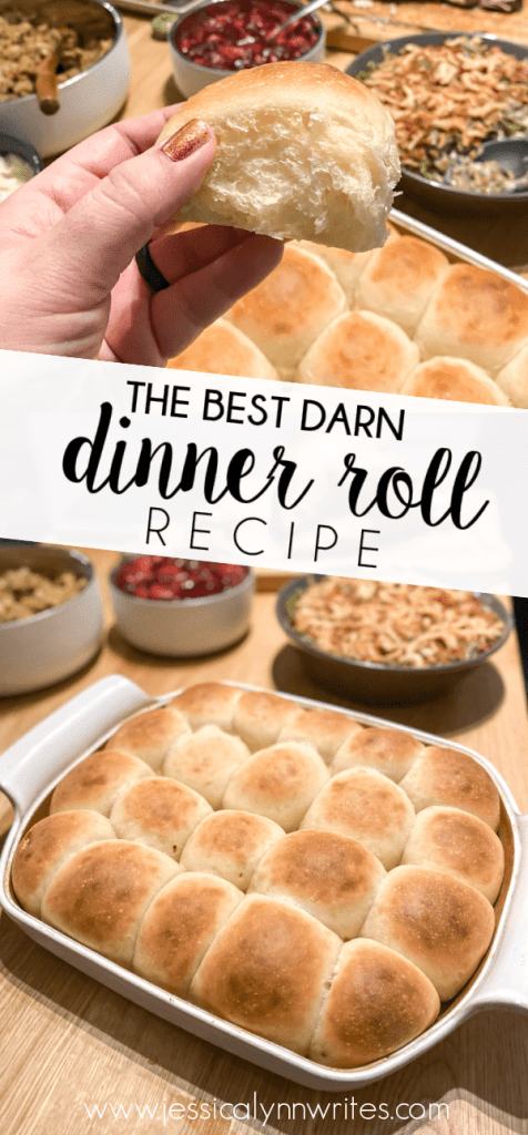 This dinner roll recipe is a game changer if you're looking to impress guests, or just want to sink your teeth in to something amazing.