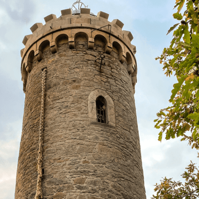 Visiting Rapunzel's Tower in Germany
