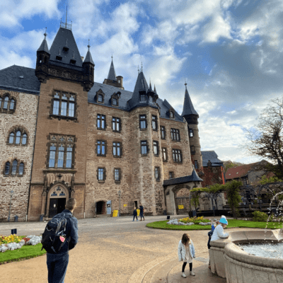 Visiting Schloss Wernigerode in Germany