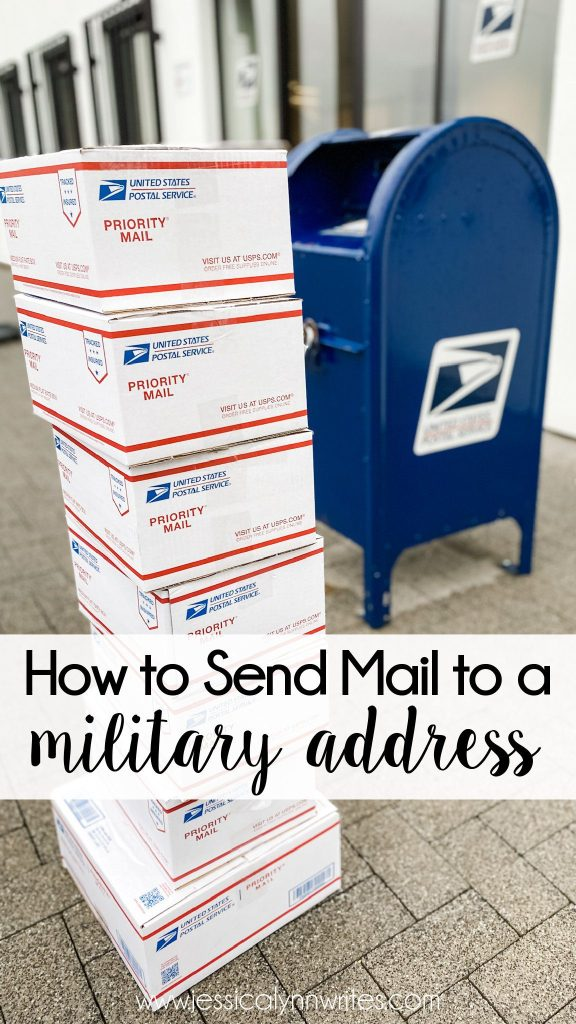 """Not sure how to send mail to a military address? Whether it's a care package or """"just because"""" mail, this post will explain everything."""