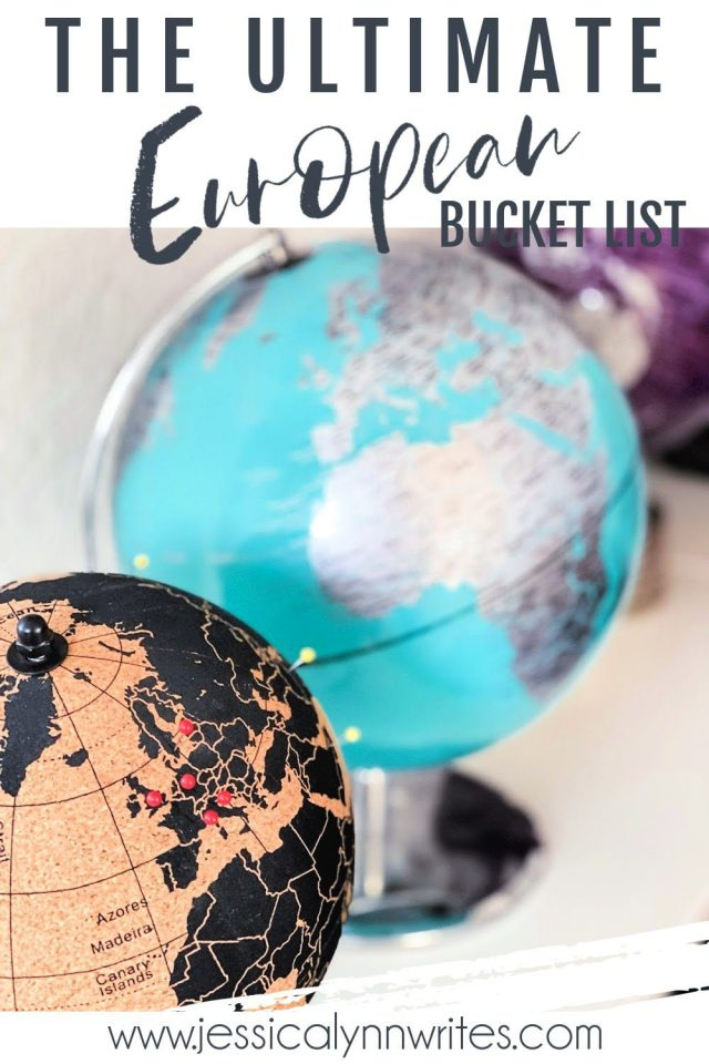 the ultimate European bucket list of what to see, where to go, and things to do around Europe.This list is ever-evolving, so check back often