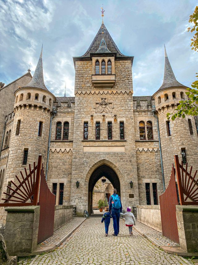 Schloss Marienburg is an almost perfectly preserved castle nestled on top of a German hill. Take a tour, walk around, and enjoy lunch there, too!