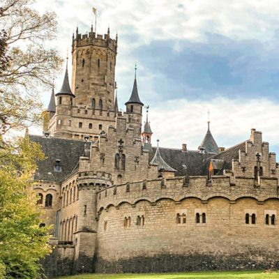 Checking out Schloss Marienburg