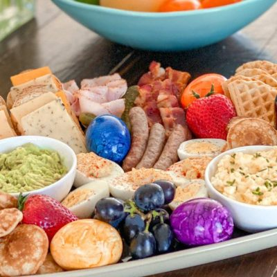 The Most EGGcellent Easter Brunch Board