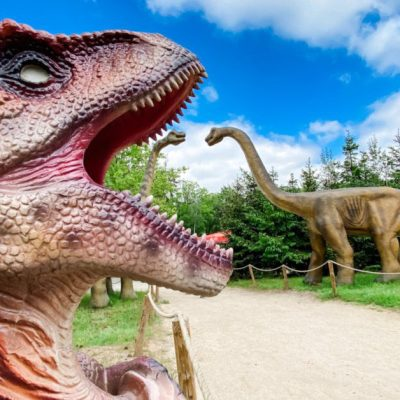 Visiting a Dino Zoo in Germany