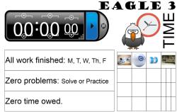 eagle 3 time