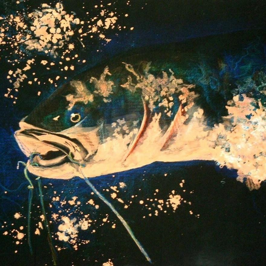 Fish Illustration - (art portfolio only)
