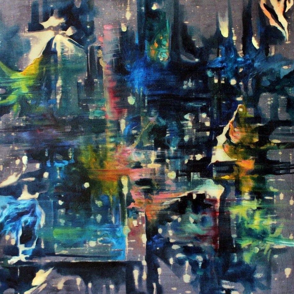 Abstract painting (art portfolio only)