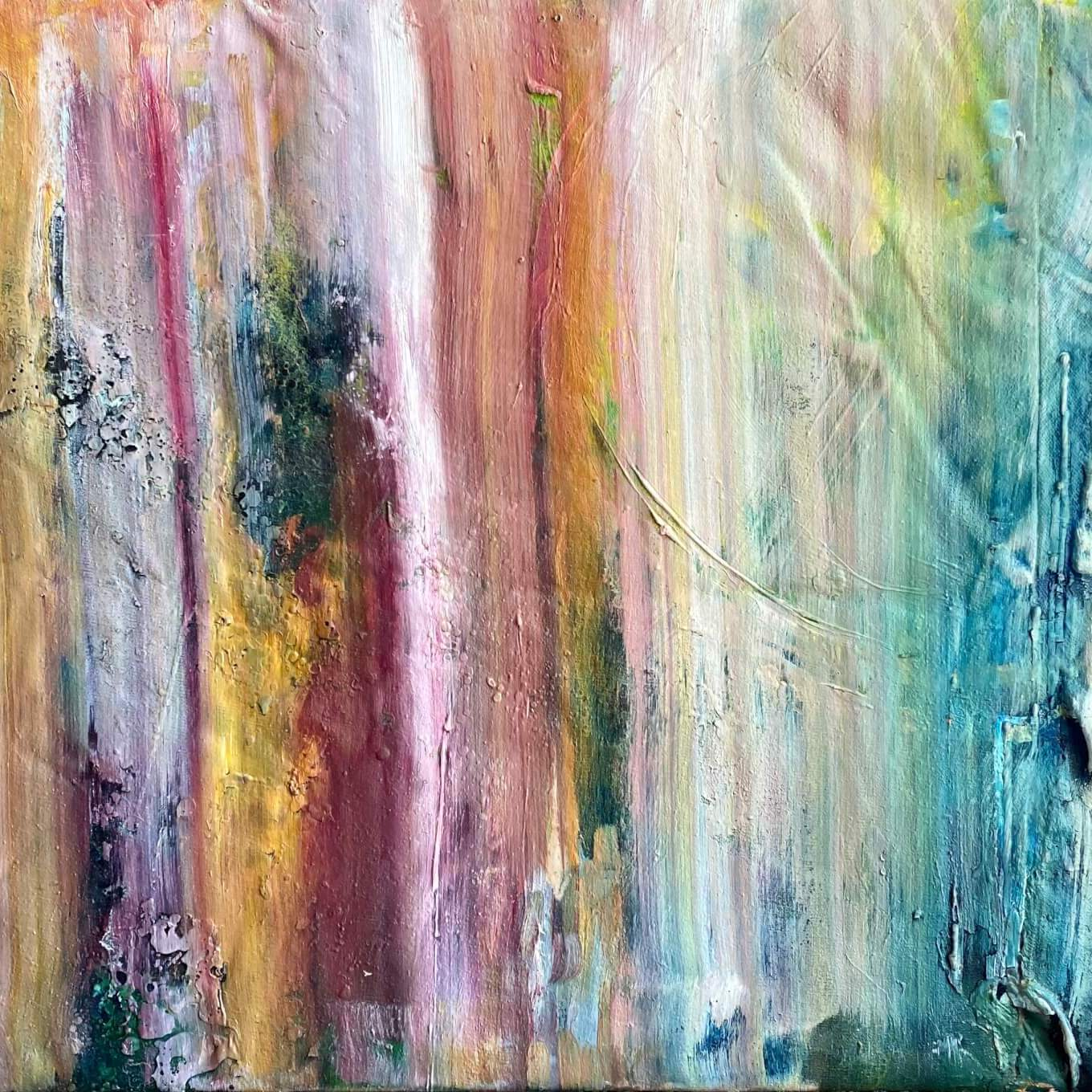 Waterfall - Abstract Painting in Art Portfolio