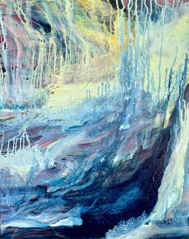 New World - Abstract Painting