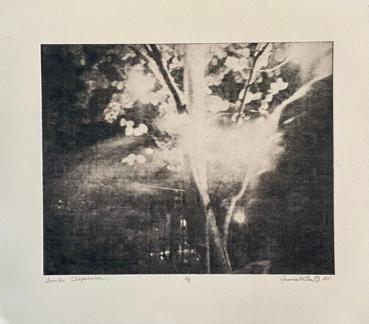 "Limited Edition: ""Smoke Dispersion"" - Solar Print"