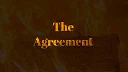 The Agreement - you can read the short story now on Vocal!
