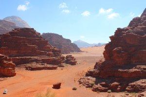 Wadi Rum Desert, Jordan, March 2014