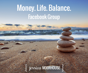 Money. Life. Balance. Join the Facebook group.