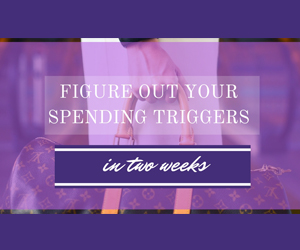 Figure Out Your Spending Triggers Course by Sarah Li Cain