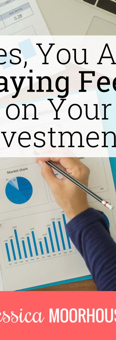 Even though paying fees on investments may seem like a little thing...it's not.