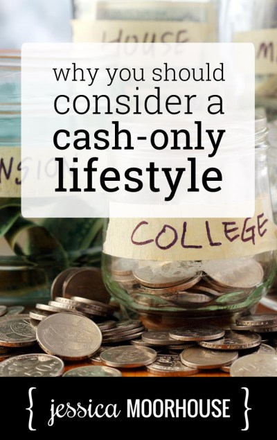 I kind of want to try to live off cash only for a month or two to see how many spending and savings are affected.