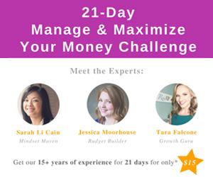 21-Day Self-Worth to Net Worth Challenge