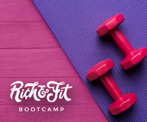 Rich & Fit Course Button