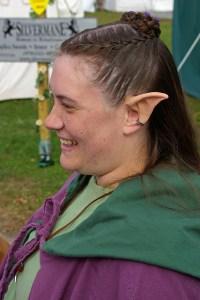 Elfen woman