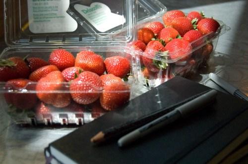 strawberry energy snack