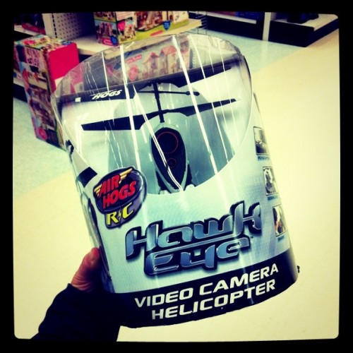 video camera helicopter!