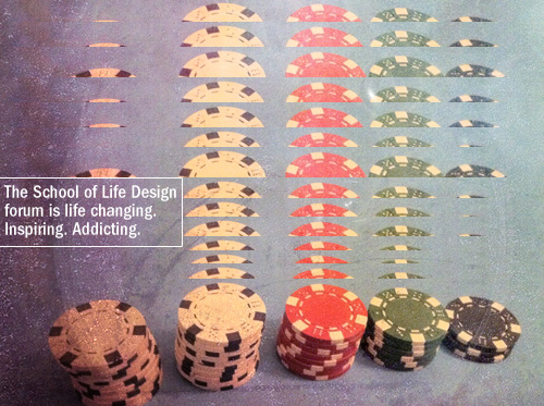 the school of life design form is life changing. inspiring. addicting